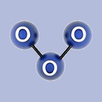 molecola di ozono